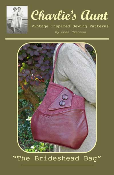The Brideshead Bag Pattern - Retail $9.00 - Click Image to Close