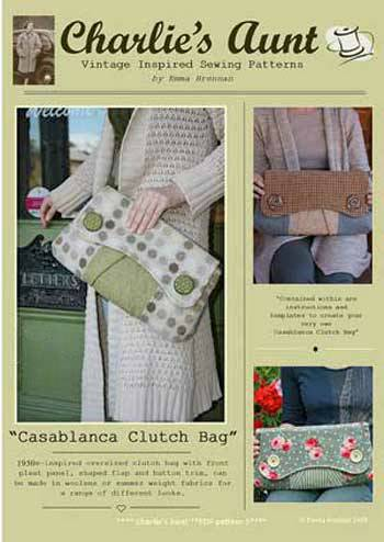 Casablanca Clutch Bag Pattern - Retail $9.00 - Click Image to Close