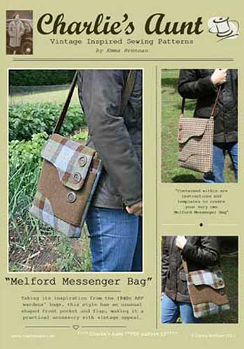 Melford Messenger Bag Pattern - Retail $10.00 - Click Image to Close
