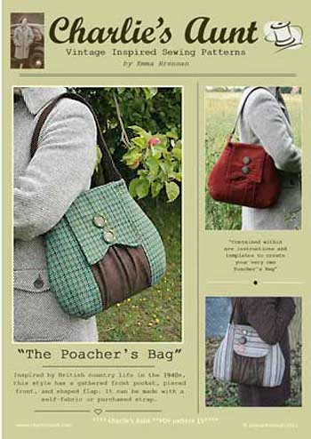 The Poacher's Bag Pattern - Retail $10.00 - Click Image to Close